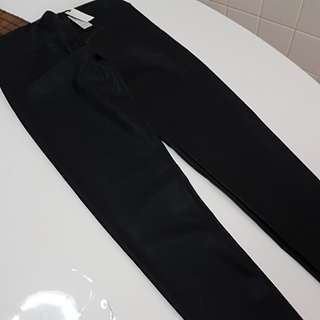 Leather legging from Cotton on.