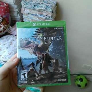 Xbox One Game Monster Hunter World