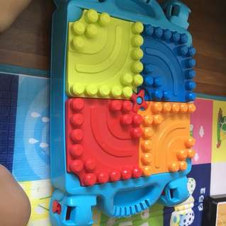 mega blocks build n learn table toy