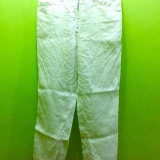 White Beach Pants