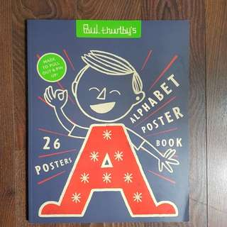 Paul Thurlby's Alphabet Poster Book