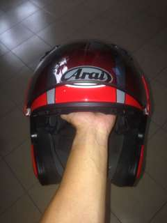 arai MZ passion red