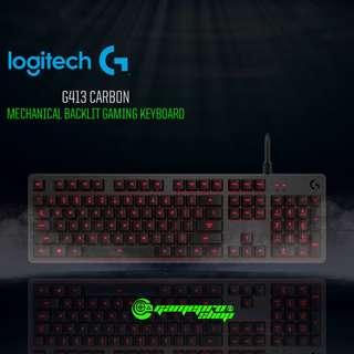 Logitech G413 (920-008313) Carbon Mechanical Backlit Gaming Keyboard