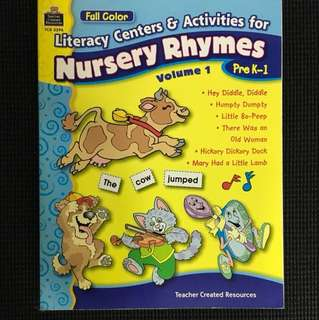 Nursery Rhymes by Teacher Created Resources