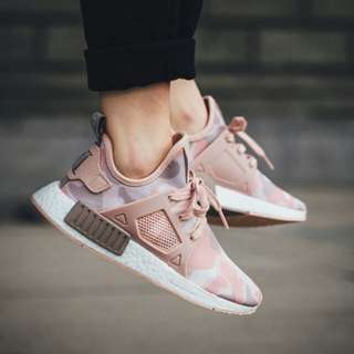 Adidas NMD XR1 Camo Pink