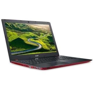 "Acer Aspire E15 E5-576G-54KG 15.6"" FHD Laptop Red (I5-8250U, 4GB, 1TB, MX150 2GB, W10H)"
