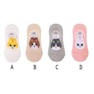 Korean Animal Ankle Socks