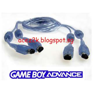 [BN] GBA 4 Players Link Cable (Brand New)