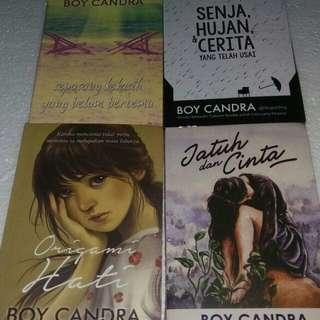 Novel karya boy candra 4 novel