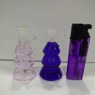 Glass Bottles for display only ( instock )