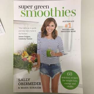 Super green smoothies book