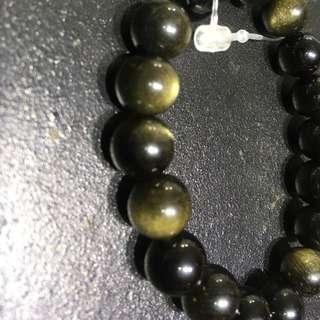 Black Obsidian Bracelet A63