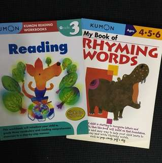 Kumon Rhyming words & Reading