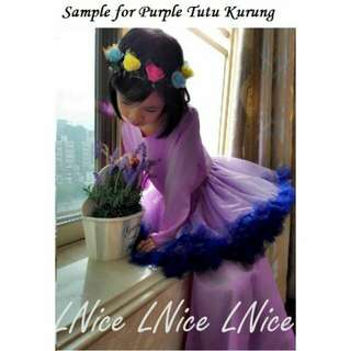 L Nice My Little Pony Inspired Baju Kurung Tutu
