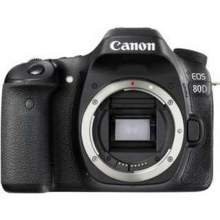 Canon eos 80D+18-55mm 單鏡組(平行輸入