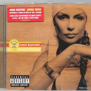 MY PRELOVED CD - ANGIE MARTINEZ - ANIMAL HOUSE - FREE DELIVERY (F3L)