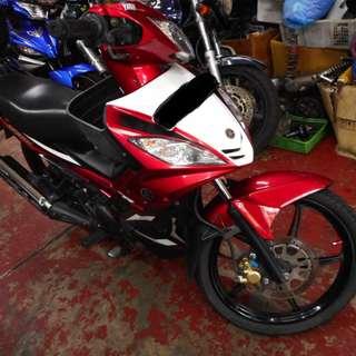 Yamaha T135 COE expiry 22/12/2021