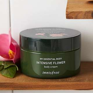 INNISFREE MY ESSENTIAL BODY INTENSIVE FLOWER BODY CREAM 150ml