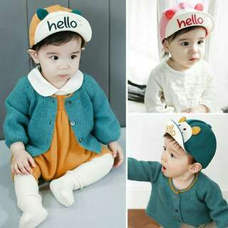 Cotton baby boy & girl cap #Bajet20