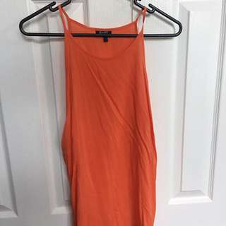 Bardot orange dressy singlet