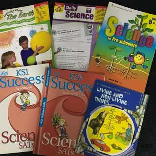 Science learning books