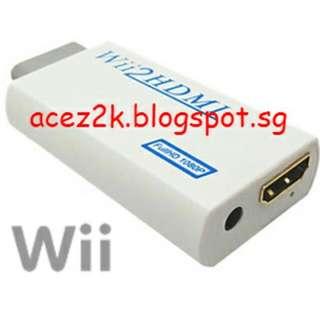 [BNIB] Wii / Wii U HDMI 720P Adaptor / Convertor / Upscaler (Brand New Boxed)