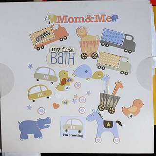 28pcs baby theme die cuts for scrapbook craft