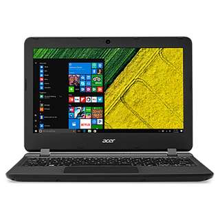"Acer Aspire ES 11 ES1-132-C7PZ 11.6"" Laptop Black (N3350, 2GB, 500GB, Intel, W10)"