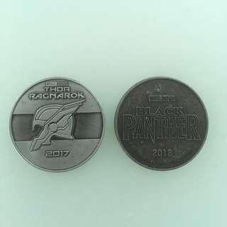 《雷神索爾3諸神黃昏》及《黑豹》紀念幣