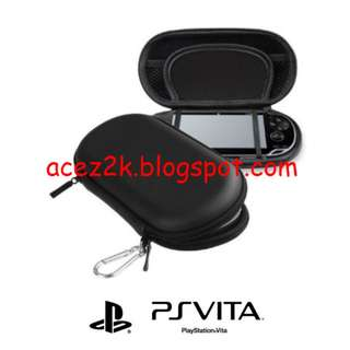 [BN] PSV PS Vita CITYWOLF EVA Hard Carrying Pouch - Black (Brand New)