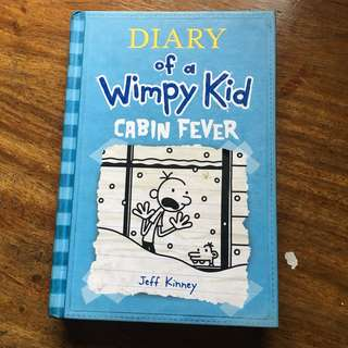 diary of a wimpy kid - cabin fever (hardbound)