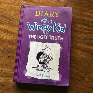 diary of a wimpy kid - the ugly truth (hardbound)