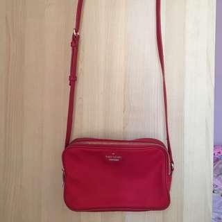 Red Kate Spade Sling Bag