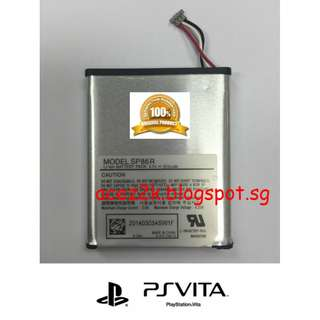 [BN] PS Vita PSV 2000 Original Sony Rechargeable Battery SP86R (Brand New)