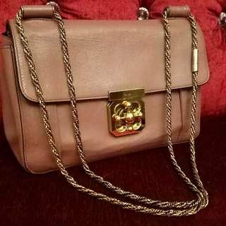 Chloe bag Authentic 正品 鏈條袋 真皮袋