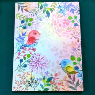 Lined Notebook [Watercolour Birds&Flowers, paperback]