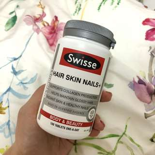 澳洲直送✈️Swisse Hair Skin Nails+ 100 tablets 💊