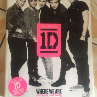 buku one direction where we are (OFFICIAL)