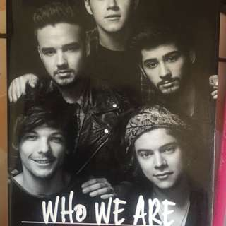 buku one direction who we are (OFFICIAL)
