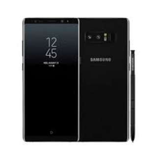 Samsung Galaxy note 8 - 256Gb storage / 6GB Ram, Black color & accessories and with DEX  Station.