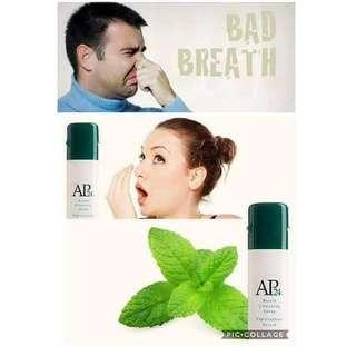 Breathe spray + AP4 Whitening Toothpaste