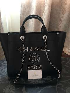 Brand New Chanel Deauville tote Medium