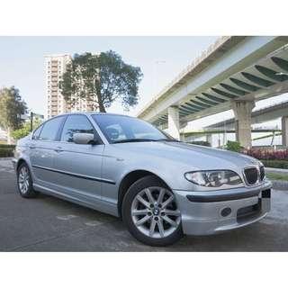 BMW 320I 2.2 M-SPORT版 原廠SPORT電動座椅 稀有原廠黑頂蓬 魚眼頭燈 M版大包