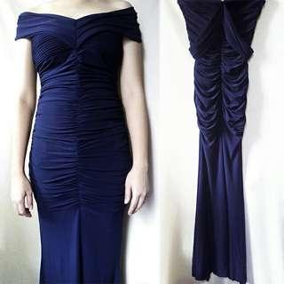 Dark Blue Gown