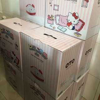 最後一批現貨*萬寧獨賣Sanrio x OTO Hello kitty 足輕鬆生日禮物首選