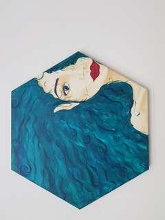 "Painting ""The mermaid"""