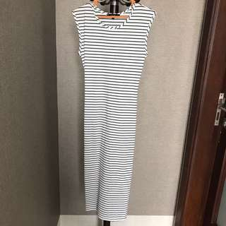 MDS stripes dress