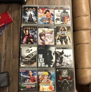 PS3 Games BUY 4 GET 1 FREE