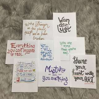 Calligraphy Artwork Quotes