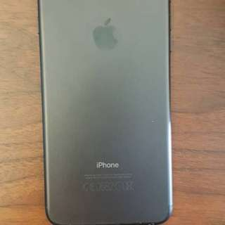 pre-loved iPhone 7 PLUS 128GB Black
